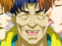 Anime, Hentai, Double penetration