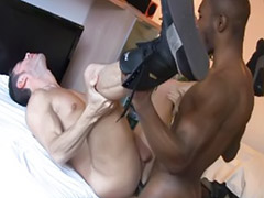 Ebony anal, Rimming, Interracial anal, Big cock blowjob, Anal bareback, Gay blowjobs