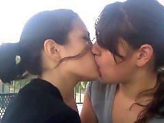 Besos lesbicos