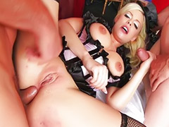 Anale penetrazione, Grandi tette anale, Doppia penetrazione, Doppio anal, Doppio anale