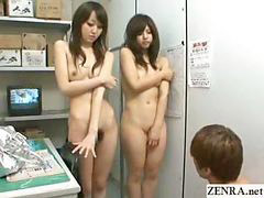 Nudist, Shoplifting, Japan