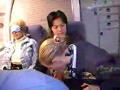Handjob, Stewardess