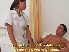 Travesti morocha, Mamadas de enfermeras, Internada, Hospitales, Enfermeria anal, Shemale masturbando