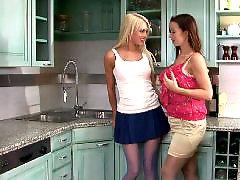Lesbian, Upskirt, Pantyhose