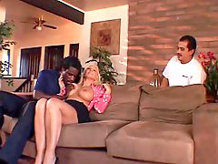 Blonde wife, Wife blacks, Hot wife, Wife black, Old guy, Husband watch