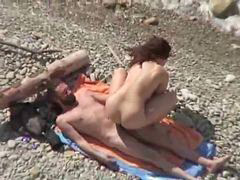 Beach, Fucks two, Two couples, Horny couple, Two coupls, Two couple
