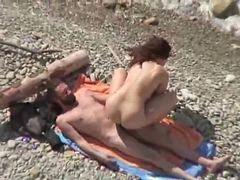 Pláž, Dvě nadržený, Pár, Páry