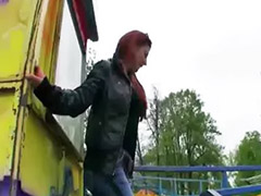 Flash, Flashing, Shy, Public blowjob, Sophia, Flashes