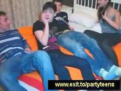 Foursome, Drunk russian, Russian teen, Teen foursome, Teens russian, Teen russian