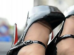 Voyeur upskirts, Upskirt stocking, Stockings upskirts, Stockings heels, Stockings nylon, Secretary stocking