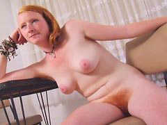 Nice tits, Hairy redhead, Pink hair, Redhead hairy, Pink hairy, Tits nice