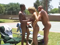 Interracial anal, Big ass blonde, Threesome outdoor, Big anal threesome, Interracial asia, Asian threesomes
