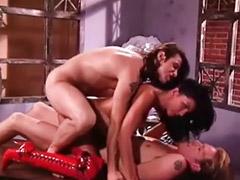 Vintage, Double anal, Threesome anal, All star, Anna, Pornstars anal