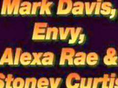 Envy, 3 somes, Rae, Show off, Alexa rae, Alexa
