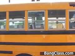 Bus, Teen, School