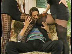 Sofa, German sofa, Threesome german, On sofa, German threesomes, A german threesome