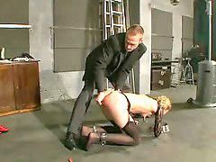 Blonde slave, Slave