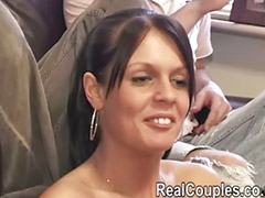 Double penetration, Double anal, Threesome anal, Amateur anal, Friends girlfriend, Blowjob&fucking