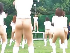 Publico niñas, Jovencitas al aire libre, Chica del publico, Niñas asiaticas