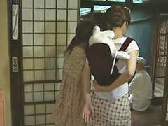 Японский жено, Пара с девушкой
