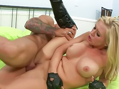 Boots, Risk, Dylan, Boots licking, Blowjob&fucking, Titfuck