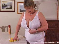 Granny, Grannies, Bbw mature, Bbw, Mature, English