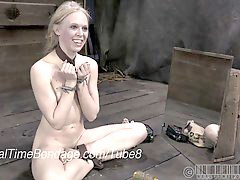 Caning, Caned, Ballerinas, Blond caning, Bondage blonde, Canings