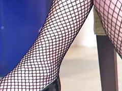 Shemale, Stockings anal, Hot shemales, High heel fuck, Stocking cum, Stocking shemale