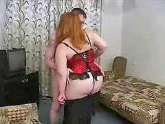 Mom, Mature, Bbw, Russian
