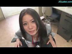 Handjob, Handjobs, Office, Offic, Office lady, Lady giving handjob
