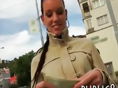 Public blowjob, Paid sex, Public pov blowjob, Public pov, Public brunett, Paided