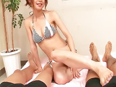 Sara, Japanese handjob, Handjob, Feet, Asian