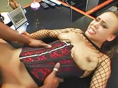 Blowjobs office, Babe big tits, Interracial party, Stocking cum, Ebony big tits, Interracial stockings