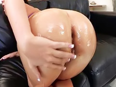 Mason, Big ass fuck, Big ass anal, Big oil, Big ass oil anal, Oil sex