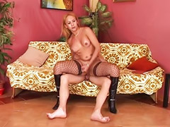 Shemale, Stockings anal, Hot shemales, Stocking cum, Stocking shemale, Sex with shemale