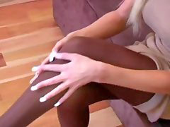 Pantyhose rip, Ripping pantyhose, Amy reid, Pantyhose strip, Stripping off, C reid