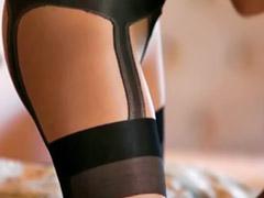 Asian lesbian, Lesbian stockings