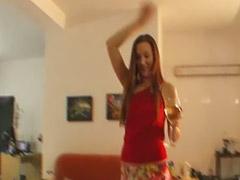 Lapdance, Striptease, Teen handjob, Teen