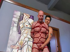Big cock handjobs, Gay domination, Gay handjob, Mitch, Big handjob, Bondage men