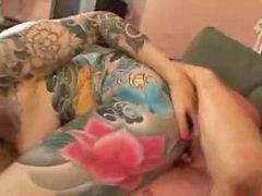 Tatuada, Tatuadas