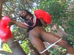 Ebony cheerleader, Ebony cheerleaders