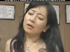 Milf, Asian, Japanese, Cumshot, Teacher
