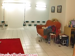 The scenes behind, Cut tri, Amateur tease, Czech girls, Striptease, Behind the scene