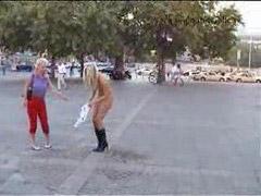 Fur, Sabrina, Nude in public, Public nude, Publicity nude, Public nudes