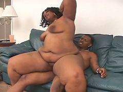 Bbw, Black bbw, Black, Sex, Couple, Hardcore