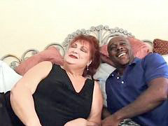 Black, Big cock, Grandma, Big black cock