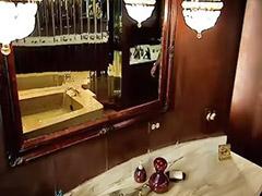 ควยใหญ่จ, เย็ดตูดใหญ่, แอบเย็ดในห้องน้ำ, แอบเย็ดกับในห้องน้ำ, แอบถ่ายสาวเจ้าห้องน้ำ, แตกในควยใหญ่