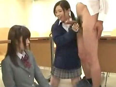Shy schoolgirl, Shy asian, In classroom, Cumming in her ass, The classroom, With other