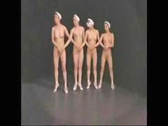 L裸体, 芭蕾, 脫光, 舞会, 舞, 舞蹈
