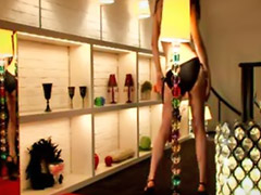 Solo asien, Mädchen strippt, Mädchen striptease